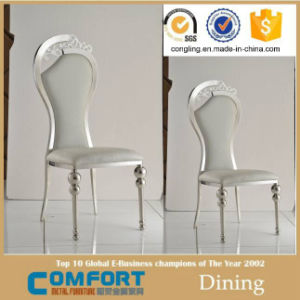 Golden Stainless Steel Chair Dining Chair Modern Wedding Chair pictures & photos