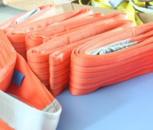 En1492-1 Sf7: 1 Polyester Flat Webbing Lifting Sling pictures & photos
