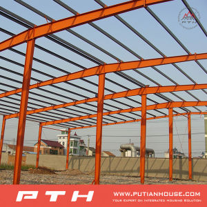2015 Prefabricated Industrial Custormized Design Low Cost Steel Structure Warehouse pictures & photos