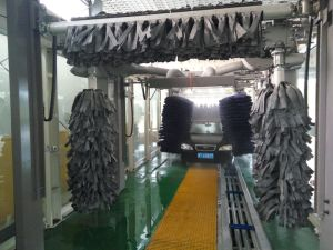 Automatic Tunnel Car Washing Machine System Equipment Steam Machine for Cleaning Manufacture Factory Fast Wash 9 Brushes pictures & photos