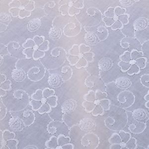 100% Cotton Embroidery Lace Fabric pictures & photos