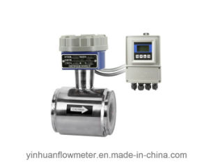 Clamp-on Divided Type Electromagnetic Flowmeter pictures & photos
