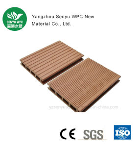 140*25 Hollow WPC Decking Building Material pictures & photos