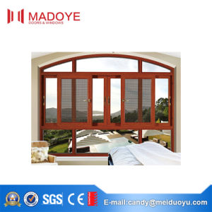 Elegant Style Sliding Window with Nets for Sumptuous House pictures & photos