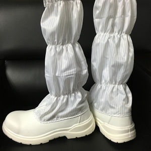 ESD Anti Static PVC PU Sole Cleanroom Boots pictures & photos