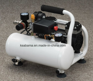 Tat-0204 0.37HP 4L Hand Carry Oil Free Silent Air Compressor pictures & photos