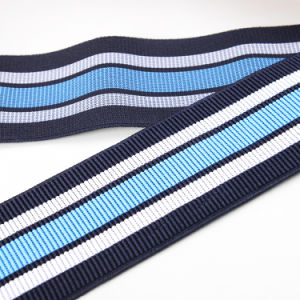 Striped Woven Elastic Tape pictures & photos