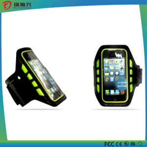 Sport Armband Pouch for Cellphone, Outdoor Sport Reflective Armband Case pictures & photos