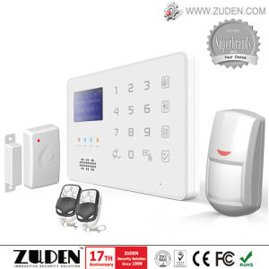 Voiced LCD GSM Home Intruder Alarm System pictures & photos
