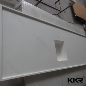 Factory Custom Size Artificial Stone Kitchen Countertop pictures & photos