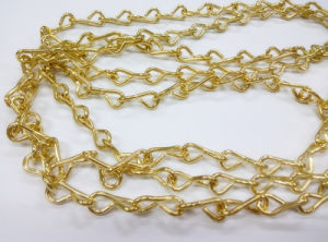 Brass Plated Metal Decorative Chain Single Jack Chains pictures & photos