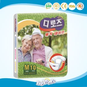 Super Absorbent Disposable Incontinent Adult Diaper for South Korea pictures & photos
