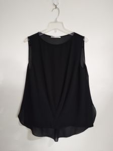 Black Vest, Viscose, Polyester, Summer Clothing pictures & photos