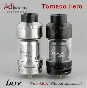 New Arrival Ijoy Tornado Hero Rta 5.2ml Sub Ohm Tank pictures & photos