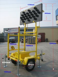 LED Solar Signal Trailer (S-1841) pictures & photos