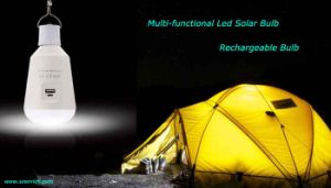Solar Powered LED Rechargeable Bulb 2017 New Arrival Hot Selling Now! pictures & photos