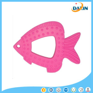 Newly Fashion Toy Fish Shaped Food-Grade Baby Teething Silicone Teether pictures & photos