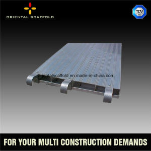 Aluminum Scaffold Plank with Hook for Construction pictures & photos