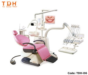 Fashionable & Luxury Foldable Efficient Dental Chair (TDH-D6) pictures & photos