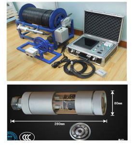 Dual Underwater Water Well and Borehole Inspection CCTV Video Camera, Downhole Camera pictures & photos