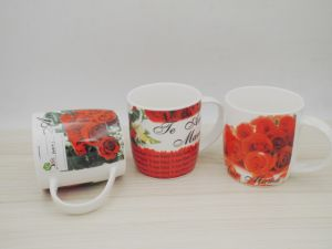 12 Oz Colorful Ceramic Milk&Coffee Mug pictures & photos
