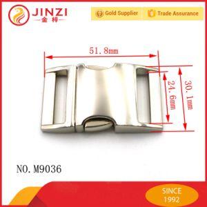 High Quality Metal Bag Lock Shinning Nickel Plating Hand Bag Press Lock pictures & photos