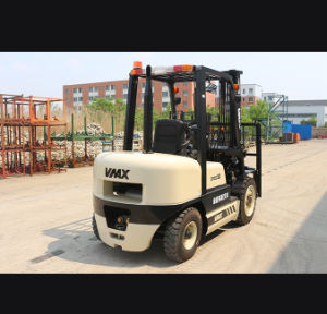 3 Ton and 1-10 Ton Diesel Engine Powered Pallet or Manual Pallet Forklift Truck with CE Standard pictures & photos