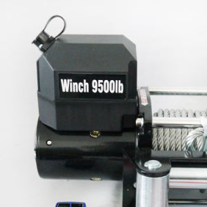 Waterproof SUV 12VDC Electric Winch with Wireless Remote Control (9500lbc-1) pictures & photos