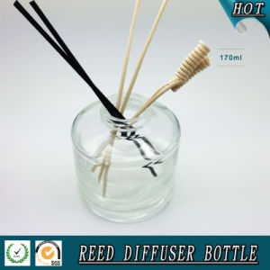 150ml Round Cylinder Aroma Glass Reed Diffuser Bottle pictures & photos