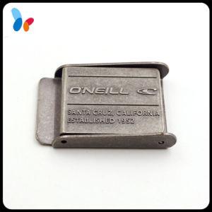 Anti Rust Metal Zinc Alloy Press Belt Buckle pictures & photos