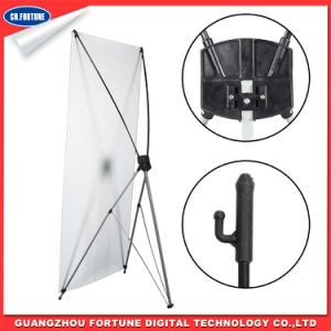 Cheaper Price Standard Korean Style X Banner Stand for Display pictures & photos