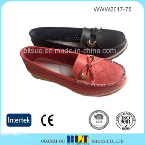 Breathable Loafer Slip on Fashion Shoes for Women pictures & photos