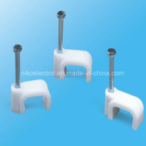 Not Easy to Burst Square Cable Clips pictures & photos
