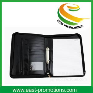 Professional Leather Portfolio File Organizer pictures & photos