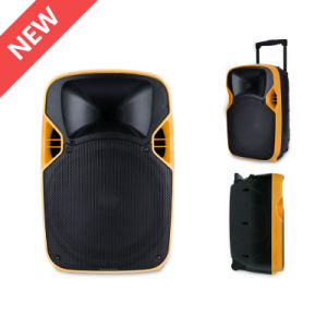 12 Inches Plastic PA System Stage Speaker with LED Projector