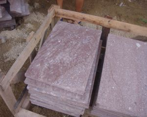 Red Porphery/Putian Red Granite/Tiles/Cobbles/Paving for Project pictures & photos