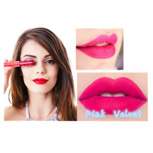 Fashionable 12 Colors Matte Velvet Liquid Lipstick pictures & photos