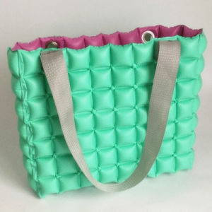 Green Color PVC Inflatable Bubble Shopping Bag or Pillow pictures & photos