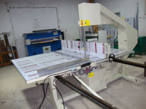 Foam Vertical Cutting Machine (LQ-3L) _ pictures & photos