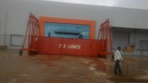 40t Mast Mobile Container Crane (JD40T) pictures & photos