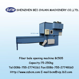 Fiber Bale Opening Machine with High quality pictures & photos