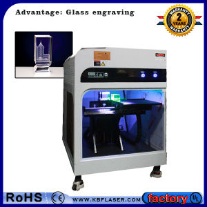 3W Crystal Inner Engrave Laser Machine pictures & photos