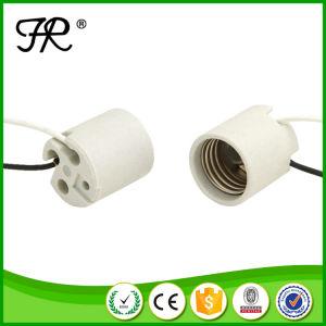 E26 E27 Porcelain (Ceramic) Lampholder pictures & photos