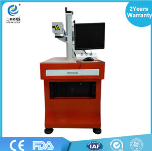 High Marking Speed Non-Metal Portable 10W 30W Fiber Laser Marking Machine pictures & photos