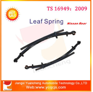 Japanese Truck Rear Leaf Springs Iron Cross Leaf Trailer Spring pictures & photos