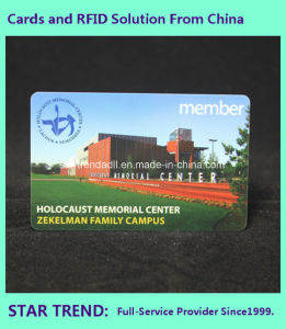 Plastic Gift Card RFID 125kHz for Club Member Access with Full Colors Printing pictures & photos