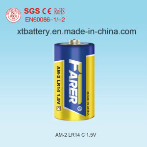 1.5V Farer Super Alkaline Dry Battery (Lr14 Am2, C) No Leakage pictures & photos