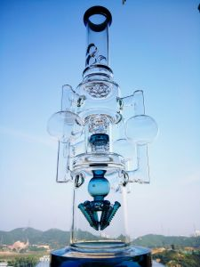 High Quality Colorful Recycler Glass Smoking Water Pipe pictures & photos