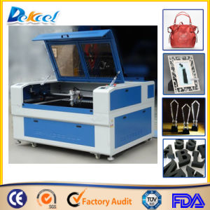 China 100W CO2 Laser Cutting Foam Leather Shoe Bag Machine pictures & photos
