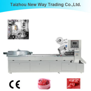 Automatic Flow Food Packaging Machine for Chocolate/Candy/Cake